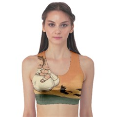 Halloween 1461955 1920 Sports Bra