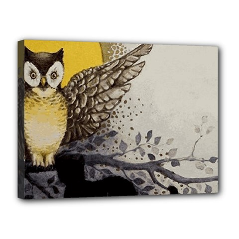 Owl 1462736 1920 Canvas 16  X 12