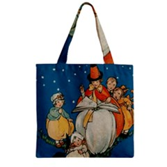 Witch 1461949 1920 Zipper Grocery Tote Bag