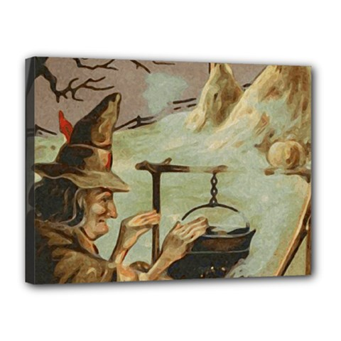Witch 1461958 1920 Canvas 16  X 12