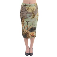 Witch 1461958 1920 Midi Pencil Skirt