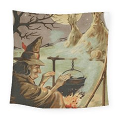 Witch 1461958 1920 Square Tapestry (large)