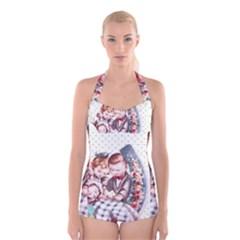 Ornamental 1336128 1280 Boyleg Halter Swimsuit