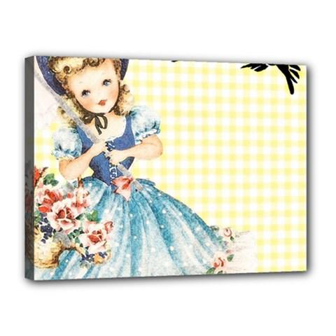 Girl 1370912 1280 Canvas 16  X 12