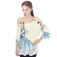 Girl 1370912 1280 Flutter Tees