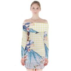 Girl 1370912 1280 Long Sleeve Off Shoulder Dress