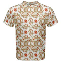 Colorful Modern Pattern Men s Cotton Tee