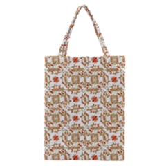 Colorful Modern Pattern Classic Tote Bag