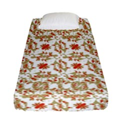 Colorful Modern Pattern Fitted Sheet (single Size)