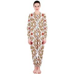 Colorful Modern Pattern Onepiece Jumpsuit (ladies)