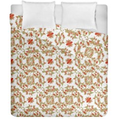 Colorful Modern Pattern Duvet Cover Double Side (california King Size)