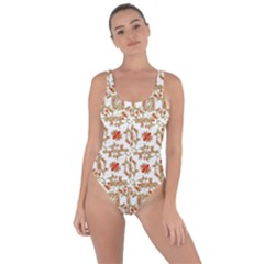 Colorful Modern Pattern Bring Sexy Back Swimsuit