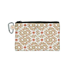 Colorful Modern Pattern Canvas Cosmetic Bag (small)