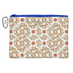 Colorful Modern Pattern Canvas Cosmetic Bag (xl)