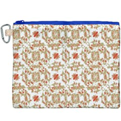 Colorful Modern Pattern Canvas Cosmetic Bag (xxxl)