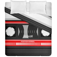 Compact Cassette Duvet Cover Double Side (california King Size)