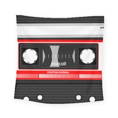 Compact Cassette Square Tapestry (small)