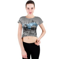 Oldtimer 166531 1920 Crew Neck Crop Top