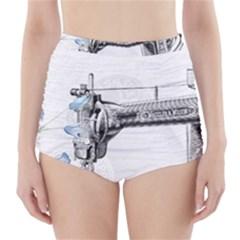 Vintage 1047275 1280 High Waisted Bikini Bottoms