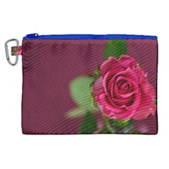 Rose 693152 1920 Canvas Cosmetic Bag (xl)