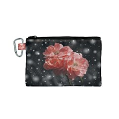Rose 572757 1920 Canvas Cosmetic Bag (small)
