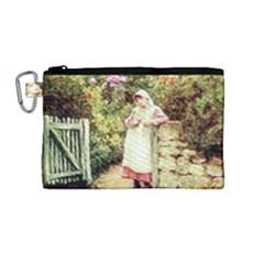 Vintage 1895908 1920 Canvas Cosmetic Bag (medium)