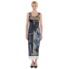 Bicycle 1763283 1280 Fitted Maxi Dress