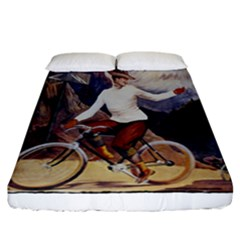 Bicycle 1763235 1280 Fitted Sheet (california King Size)