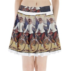 Bicycle 1763235 1280 Pleated Mini Skirt