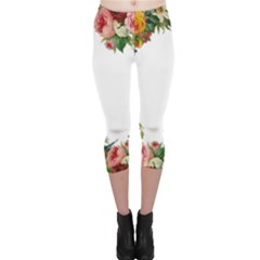 Flower 1770191 1920 Capri Leggings