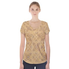 Background 1770246 1920 Short Sleeve Front Detail Top