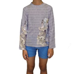 Background 1775352 1280 Kids  Long Sleeve Swimwear