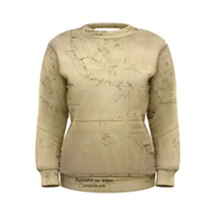 Map Women s Sweatshirt