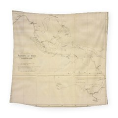 Map Square Tapestry (large)