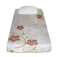 Floral Fitted Sheet (single Size)