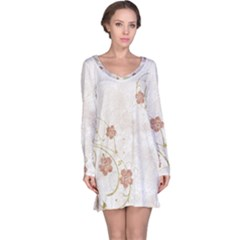 Floral Long Sleeve Nightdress