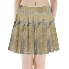 Background 1770118 1920 Pleated Mini Skirt