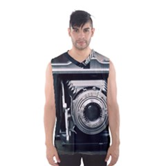 Photo Camera Men s Basketball Tank Top