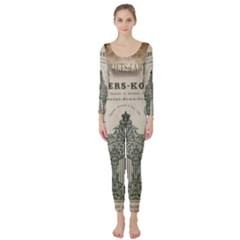 Building News Long Sleeve Catsuit