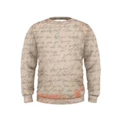 Letter Kids  Sweatshirt