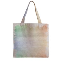 Page Spash Zipper Grocery Tote Bag