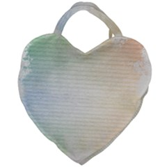 Page Spash Giant Heart Shaped Tote