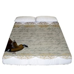 Tag Bird Fitted Sheet (california King Size)