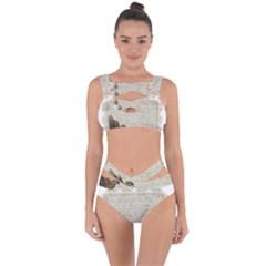 Tag Bird Bandaged Up Bikini Set