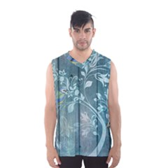 Green Tree Men s Basketball Tank Top