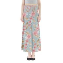 Background 1659236 1920 Full Length Maxi Skirt