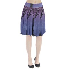 Silhouette Tree Pleated Skirt