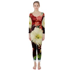Flowers 1776585 1920 Long Sleeve Catsuit