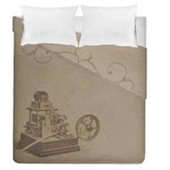 Camera Old Duvet Cover Double Side (queen Size)