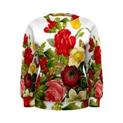 Flower Bouquet 1131891 1920 Women s Sweatshirt